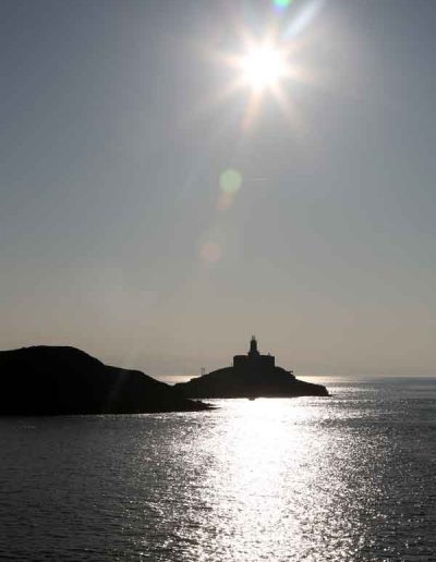 Silhouette, Mumbles Lighthouse