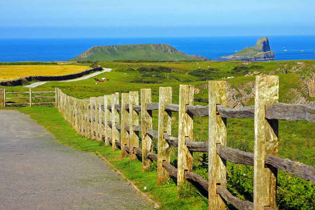 Foot path to Worms Head