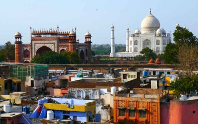 Rooftops of Agra