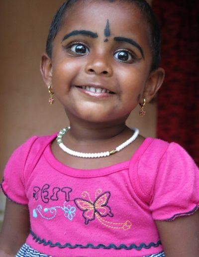 Young village girl Kerala
