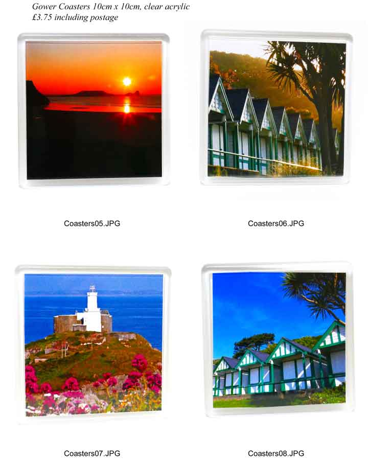 Gower Coasters