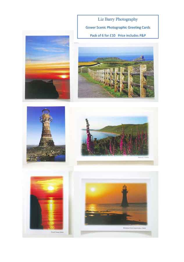 Gower Greeting cards