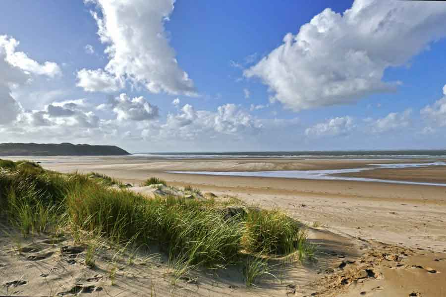 Whiteford Sands and Broughton Bay
