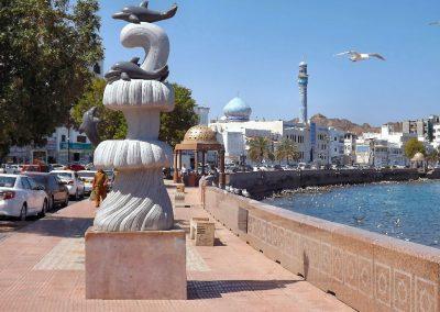 Oman Muttrah corniche