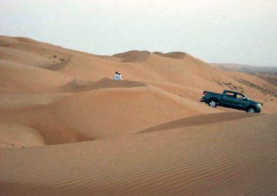 Oman sand dunes