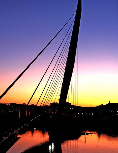 Sail Bridge Swansea Marina