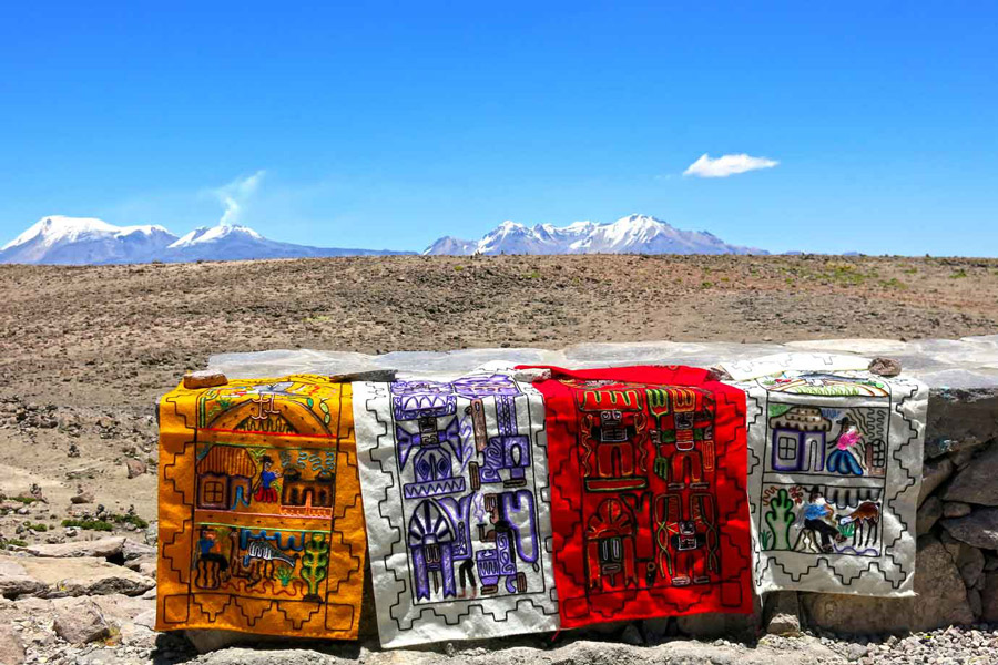 Valley of the Volcanoes Arequipa Peru